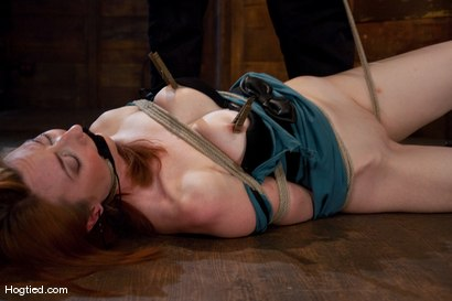 Photo number 5 from Kendra James<br>Sophistication  shot for Hogtied on Kink.com. Featuring Kendra James in hardcore BDSM & Fetish porn.