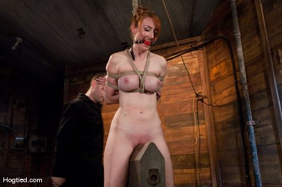 Photo number 7 from Kendra James<br>Sophistication  shot for Hogtied on Kink.com. Featuring Kendra James in hardcore BDSM & Fetish porn.