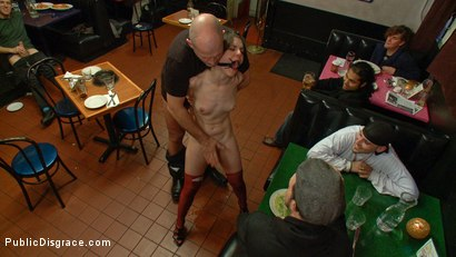 Photo number 8 from Juliette  shot for Public Disgrace on Kink.com. Featuring Juliette March and Mark Davis in hardcore BDSM & Fetish porn.