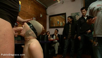 Photo number 12 from Juliette  shot for Public Disgrace on Kink.com. Featuring Juliette March and Mark Davis in hardcore BDSM & Fetish porn.