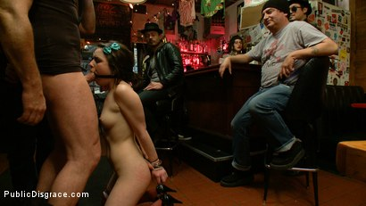 Photo number 7 from Juliette  shot for Public Disgrace on Kink.com. Featuring Juliette March and Mark Davis in hardcore BDSM & Fetish porn.