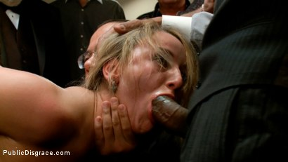 Photo number 5 from Hot Young Slut Used and Abused in the Kink.com Castle shot for Public Disgrace on Kink.com. Featuring Jessie Cox and Justin Long in hardcore BDSM & Fetish porn.