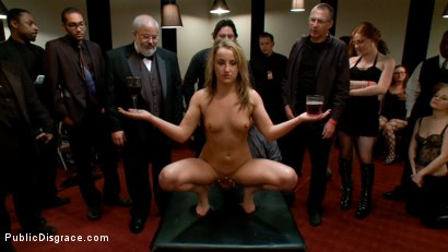 Photo number 9 from Hot Young Slut Used and Abused in the Kink.com Castle shot for Public Disgrace on Kink.com. Featuring Jessie Cox and Justin Long in hardcore BDSM & Fetish porn.