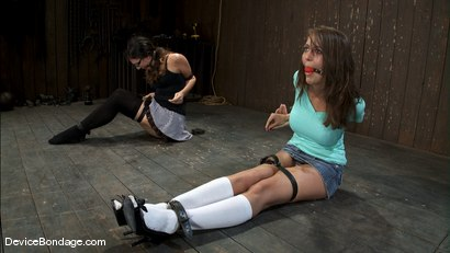 Photo number 3 from Alicia Stone, Sienna, and Isis Love <br>Part 1 of 4 of the February Live Show. shot for Device Bondage on Kink.com. Featuring Isis Love, Alicia Stone and Sienna in hardcore BDSM & Fetish porn.