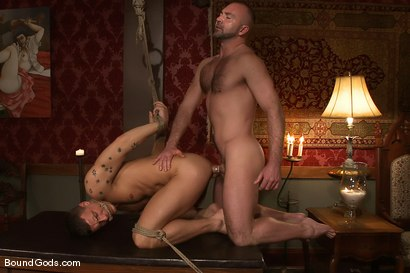 Photo number 13 from The Bondage Escort shot for Bound Gods on Kink.com. Featuring Josh West and Adam Knox in hardcore BDSM & Fetish porn.