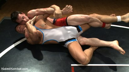 Photo number 1 from Adam Knox vs CJ shot for Naked Kombat on Kink.com. Featuring Adam Knox and CJ in hardcore BDSM & Fetish porn.