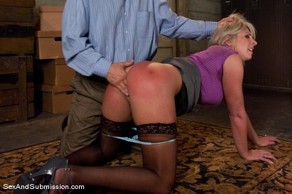 Photo number 4 from Role Reversal shot for Sex And Submission on Kink.com. Featuring Derrick Pierce and Skylar Price in hardcore BDSM & Fetish porn.