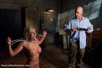 Photo number 8 from Role Reversal shot for Sex And Submission on Kink.com. Featuring Derrick Pierce and Skylar Price in hardcore BDSM & Fetish porn.
