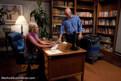 Photo number 2 from Role Reversal shot for Sex And Submission on Kink.com. Featuring Derrick Pierce and Skylar Price in hardcore BDSM & Fetish porn.
