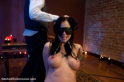 Photo number 6 from Final Exam shot for Sex And Submission on Kink.com. Featuring Steve Holmes and Tricia Oaks in hardcore BDSM & Fetish porn.