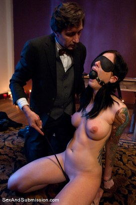 Photo number 8 from Final Exam shot for Sex And Submission on Kink.com. Featuring Steve Holmes and Tricia Oaks in hardcore BDSM & Fetish porn.