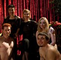 Sadogirls Maitresse Madeline and Aiden Star pit to pathetic worms against each other in the slaveboy Olympics LIVE!