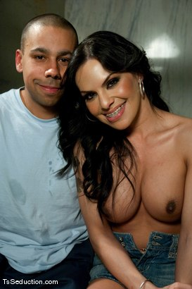 Photo number 15 from TS Foxxy <br> Tailgating and glory hole blow jobs shot for TS Seduction on Kink.com. Featuring TS Foxxy and Lance in hardcore BDSM & Fetish porn.