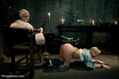 "Photo number 9 from 19 Year Old Tramp: ""I am an anal whore""! shot for Whipped Ass on Kink.com. Featuring Lorelei Lee and Tara Lynn Foxx in hardcore BDSM & Fetish porn."