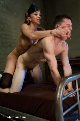 Photo number 12 from Begging for your Fantasy to STOP shot for TS Seduction on Kink.com. Featuring Jessica Host and Martin Lorenzo in hardcore BDSM & Fetish porn.