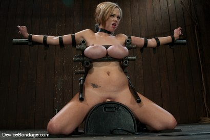 Photo number 1 from Katie Kox<br> Thanks for the mammaries. shot for Device Bondage on Kink.com. Featuring Katie Kox in hardcore BDSM & Fetish porn.