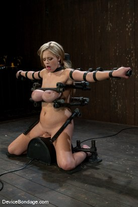 Photo number 13 from Katie Kox<br> Thanks for the mammaries. shot for Device Bondage on Kink.com. Featuring Katie Kox in hardcore BDSM & Fetish porn.