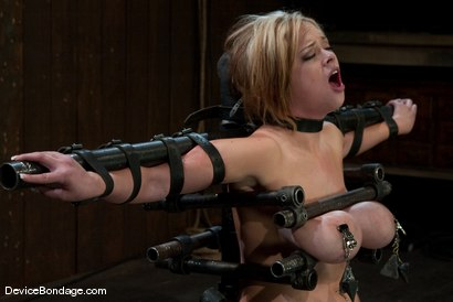Photo number 7 from Katie Kox<br> Thanks for the mammaries. shot for Device Bondage on Kink.com. Featuring Katie Kox in hardcore BDSM & Fetish porn.