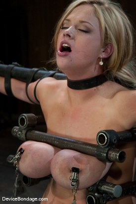 Photo number 10 from Katie Kox<br> Thanks for the mammaries. shot for Device Bondage on Kink.com. Featuring Katie Kox in hardcore BDSM & Fetish porn.