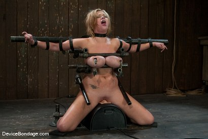 Photo number 8 from Katie Kox<br> Thanks for the mammaries. shot for Device Bondage on Kink.com. Featuring Katie Kox in hardcore BDSM & Fetish porn.
