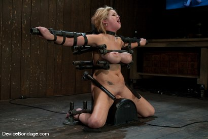 Photo number 9 from Katie Kox<br> Thanks for the mammaries. shot for Device Bondage on Kink.com. Featuring Katie Kox in hardcore BDSM & Fetish porn.