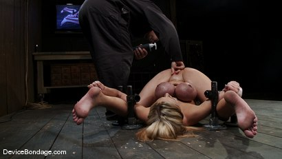 Photo number 9 from Katie Kox<br> Why you squirting on yourself?<br>Why you squirting on yourself? shot for Device Bondage on Kink.com. Featuring Katie Kox in hardcore BDSM & Fetish porn.