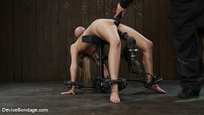 Photo number 9 from Katie Kox<br> Why are you hitting yourself? shot for Device Bondage on Kink.com. Featuring Katie Kox in hardcore BDSM & Fetish porn.