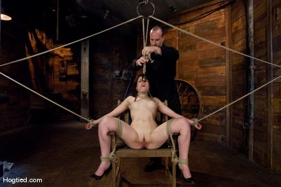 Photo number 7 from Casting Couch: Juliette shot for Hogtied on Kink.com. Featuring Juliette March in hardcore BDSM & Fetish porn.