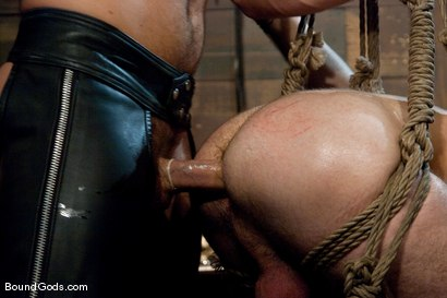 Photo number 10 from Tristan Jaxx gets tied up and flogged. shot for Bound Gods on Kink.com. Featuring Tristan Jaxx, Van Darkholme and Matthew Singer in hardcore BDSM & Fetish porn.