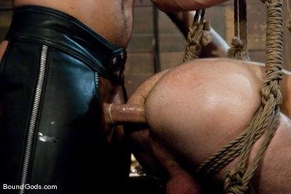 Photo number 10 from Tristan Jaxx gets tied up and flogged. shot for Bound Gods on Kink.com. Featuring Tristan Jaxx, Van Darkholme and Matthew Singer in hardcore BDSM & Fetish porn.