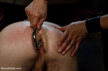 Photo number 4 from Tristan Jaxx gets tied up and flogged. shot for Bound Gods on Kink.com. Featuring Tristan Jaxx, Van Darkholme and Matthew Singer in hardcore BDSM & Fetish porn.