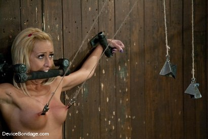 Photo number 14 from Breanne Benson <br>Getting to know you. shot for Device Bondage on Kink.com. Featuring Breanne Benson in hardcore BDSM & Fetish porn.