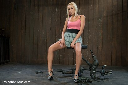 Photo number 2 from Breanne Benson <br>Getting to know you. shot for Device Bondage on Kink.com. Featuring Breanne Benson in hardcore BDSM & Fetish porn.