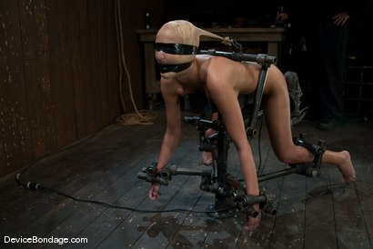 Photo number 2 from Breanne Benson <br>Now she is pretty shot for Device Bondage on Kink.com. Featuring Breanne Benson in hardcore BDSM & Fetish porn.