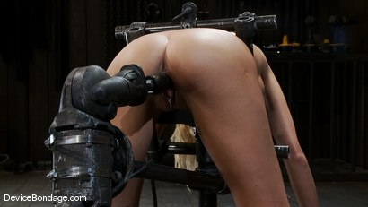 Photo number 3 from Breanne Benson <br>Now she is pretty shot for Device Bondage on Kink.com. Featuring Breanne Benson in hardcore BDSM & Fetish porn.