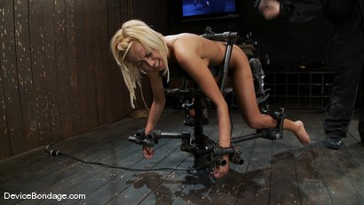 Photo number 4 from Breanne Benson <br>Now she is pretty shot for Device Bondage on Kink.com. Featuring Breanne Benson in hardcore BDSM & Fetish porn.