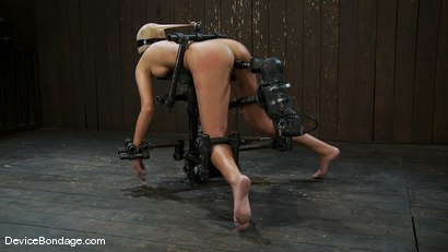Photo number 10 from Breanne Benson <br>Now she is pretty shot for Device Bondage on Kink.com. Featuring Breanne Benson in hardcore BDSM & Fetish porn.