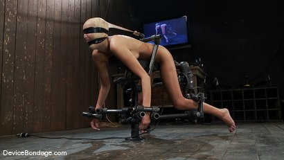 Photo number 12 from Breanne Benson <br>Now she is pretty shot for Device Bondage on Kink.com. Featuring Breanne Benson in hardcore BDSM & Fetish porn.