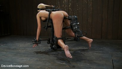 Photo number 14 from Breanne Benson <br>Now she is pretty shot for Device Bondage on Kink.com. Featuring Breanne Benson in hardcore BDSM & Fetish porn.