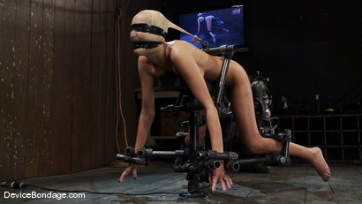 Photo number 9 from Breanne Benson <br>Now she is pretty shot for Device Bondage on Kink.com. Featuring Breanne Benson in hardcore BDSM & Fetish porn.
