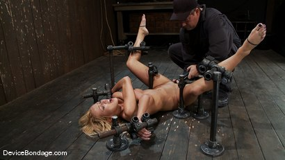 Photo number 14 from Breanne Benson <br> Let's finger fuck the pretty girl to hell and back. shot for Device Bondage on Kink.com. Featuring Breanne Benson in hardcore BDSM & Fetish porn.