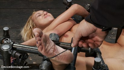Photo number 6 from Breanne Benson <br> Let's finger fuck the pretty girl to hell and back. shot for Device Bondage on Kink.com. Featuring Breanne Benson in hardcore BDSM & Fetish porn.