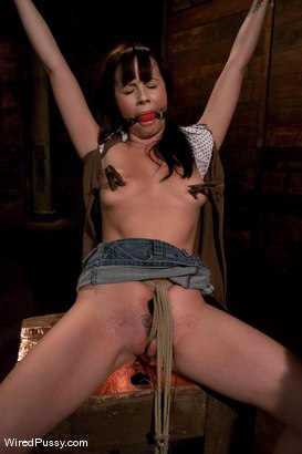 Photo number 2 from Adorable 20 year old Lindy Lane has MIND-BLOWING ORGASMS from Electrical Stimulation  shot for Wired Pussy on Kink.com. Featuring Princess Donna Dolore and Lindy Lane in hardcore BDSM & Fetish porn.