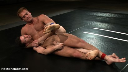 Photo number 5 from Chad Dylan vs Martin Lorenzo shot for Naked Kombat on Kink.com. Featuring Martin Lorenzo and Chad Dylan in hardcore BDSM & Fetish porn.