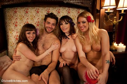 Photo number 1 from Three French Whores Dominate and Buttfuck Tommy The Trick! shot for Divine Bitches on Kink.com. Featuring Seda, Hollie Stevens, Tommy Defendi and Dana DeArmond in hardcore BDSM & Fetish porn.