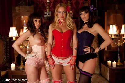Photo number 2 from Three French Whores Dominate and Buttfuck Tommy The Trick! shot for Divine Bitches on Kink.com. Featuring Seda, Hollie Stevens, Tommy Defendi and Dana DeArmond in hardcore BDSM & Fetish porn.