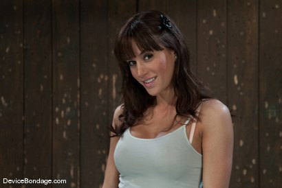 Photo number 2 from Gia DiMarco   The cute girl from next door. shot for Device Bondage on Kink.com. Featuring Gia DiMarco in hardcore BDSM & Fetish porn.