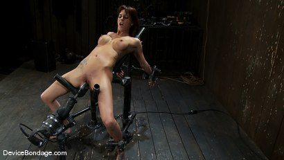 Photo number 14 from Gia DiMarco<br>The cute girl from next door. shot for Device Bondage on Kink.com. Featuring Gia DiMarco in hardcore BDSM & Fetish porn.