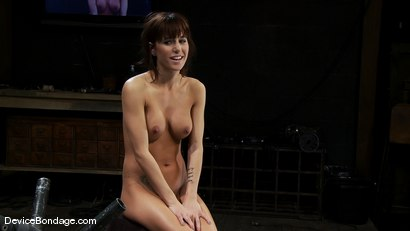 Photo number 15 from Gia DiMarco<br>The cute girl from next door. shot for Device Bondage on Kink.com. Featuring Gia DiMarco in hardcore BDSM & Fetish porn.