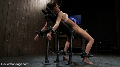 Photo number 3 from Gia DiMarco<br>The cute girl from next door. shot for Device Bondage on Kink.com. Featuring Gia DiMarco in hardcore BDSM & Fetish porn.